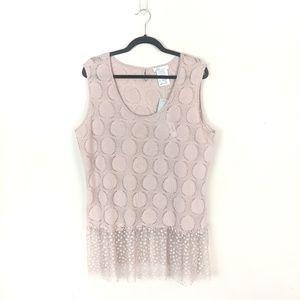Zoé • Blush Pink Tunic Knit Top
